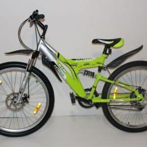 Велосипед Extreme 26 Зеленый/Серый