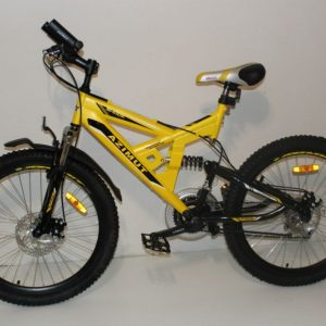 Велосипед Azimut 24 Желтый/Черный